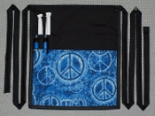 Denim Peace Side Apron