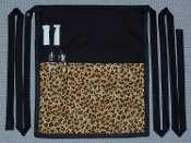 Leopard Side Apron