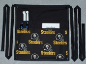 Pittsburgh Black Steelers Side Apron