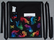 Rainbow Kokopelli Side Apron