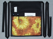 Orange Sunflowers Side Apron